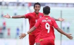 U22 Myanmar thắng trận, nỗ lực của Singapore đổ sông đổ biển