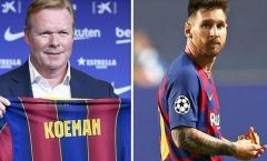 Koeman: 'Messi rồi cũng như bao cầu thủ khác ...'