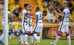 Inter giành thắng lợi nhọc nhằn trong ngày Lukaku vắng bóng