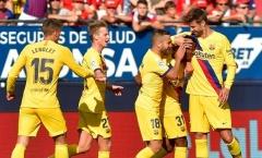 Khởi đầu tệ hại nhưng đâu có gì thảm họa với Barca