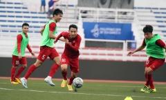 U22 Việt Nam trở lại tập luyện sau trận đấu với U22 Brunei