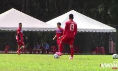 U22 Việt Nam phục hồi, chuẩn bị cho trận đấu gặp Campuchia