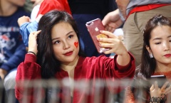Hotgirl thả thính Xuân Trường, Công Phượng trên sân Hàng Đẫy