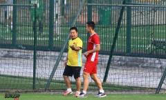 'Máy quét' Hùng Dũng chấn thương, HLV Park Hang-seo lên phương án thay thế