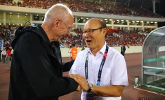Thầy Park kính trọng HLV Sven-Goran Eriksson như thế nào trên sân Mỹ Đình?