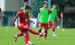 ĐT Việt Nam tập luyện trở lại: Đức Chinh tươi cười chỉnh thước ngắm