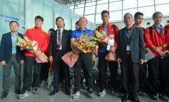 Thầy trò HLV Park Hang-seo lên đường, sẵn sàng chinh phục Asian Cup 2019