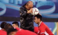 Chỉnh thước ngắm học trò, HLV Park Hang-seo sẵn sàng tạo bất ngờ trước Iraq