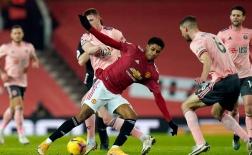 10 thống kê Man Utd 1-2 Sheff Utd: Địa chấn Premier League!