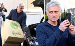 Lộ hình ảnh mới nhất của Mourinho sau khi bị sa thải