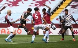 10 thống kê Villa 1-3 M.U: Siêu dự bị và một 'Lampard 2.0' xuất hiện!