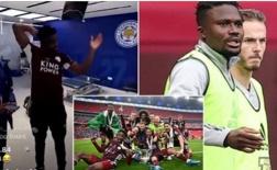 SỐC! Sao Leicester thẳng tay ném văng cờ hiệu Chelsea