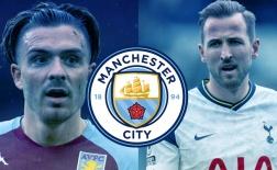 Đội hình siêu mạnh của Man City với Kane và Grealish