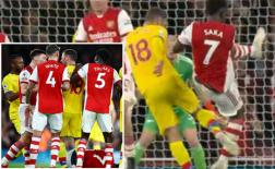 Cận cảnh pha triệt hạ khiến sao Arsenal dính chấn thương