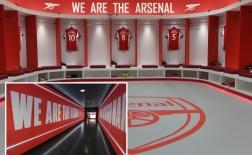 Arsenal trình làng phòng thay đồ đẳng cấp, sang xịn