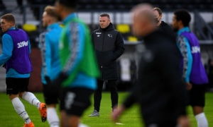 Rooney ra mắt thảm họa, Derby County chìm dưới đáy BXH