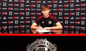 Xác nhận! Man Utd công bố bản hợp đồng mới tài năng