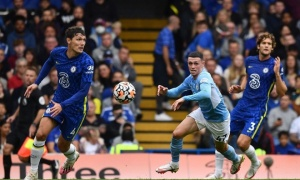 'Man City áp đảo Chelsea. Tuchel không hài lòng'
