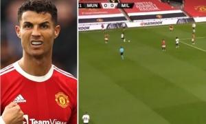 Nỗi oan của Cristiano Ronaldo ở Man Utd