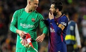 Tiếp tục lộ bằng chứng cho thấy Messi mâu thuẫn với Ter Stegen