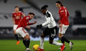 10 thống kê khủng Fulham 0-1 M.U: Đỉnh cao Quỷ đỏ, lần đầu của Fernandes!