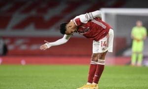 Arsenal thua đau, Arteta báo thêm hung tin về Aubameyang