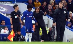 Willian tiết lộ lý do vì sao Conte bị sa thải khỏi Chelsea