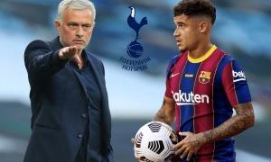 Chuyển nhượng 03/01: M.U tiến sát 'cơn lốc hành lang'; Mourinho gây sốc với Coutinho?