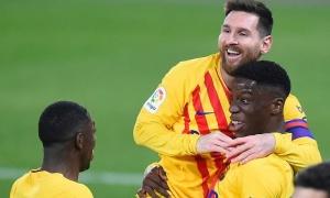 """""""Pogba đệ nhị"""" nổ súng nhờ sự sắp xếp của Messi"""