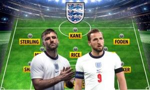 Đội hình ĐT Anh đấu Scotland: Sao Man Utd đá chính?