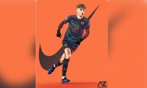 Rò rỉ thiết kế độc lạ của áo đấu thứ 3 Chelsea mùa giải 2021/22