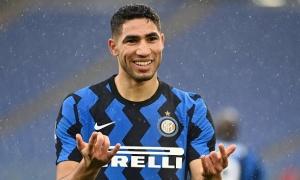 Inter nhắm 3 cái tên thay Hakimi, sao Arsenal góp mặt