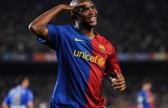 Eto'o: 'Messi chơi bóng với tôi chứ không phải tôi chơi bóng với cậu ấy'