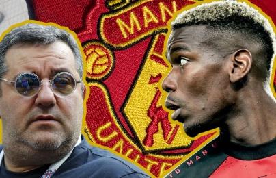 """Raiola """"lật mặt"""", gây ngã ngửa vụ Pogba đòi rời Man Utd"""