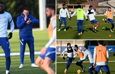 Chelsea trở lại tập luyện, trò cưng Lampard lo lắng ra mặt