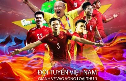 ĐT Việt Nam và 4 đội hạng nhì bảng xuất sắc lọt vào VL cuối World Cup
