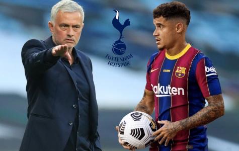 Chuyển nhượng 03/01: M.U tiến sát cơn lốc hành lang; Mourinho gây sốc với Coutinho?