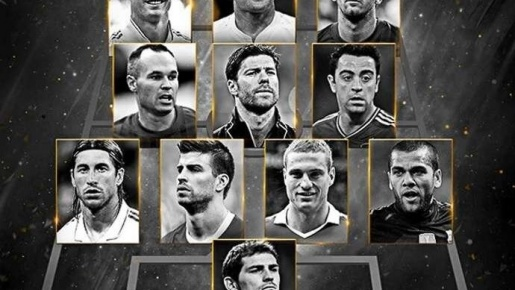 Từ Nemanja Vidic đến Rooney: Đội hình World Best 2011 giờ ở đâu?