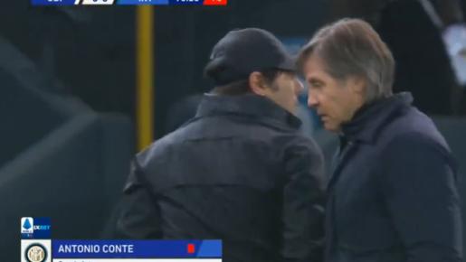 Quát tháo ngoài đường biên, Conte nhận ngay kết cục đắng lòng