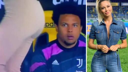 Sao Juventus ngẩn ngơ khi nhìn vòng 3 của nữ MC gợi cảm