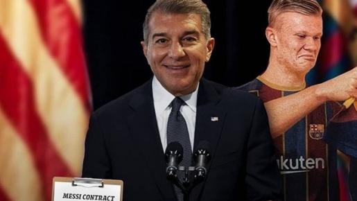 Cười té khói với loạt ảnh chế Laporta làm chủ tịch Barca