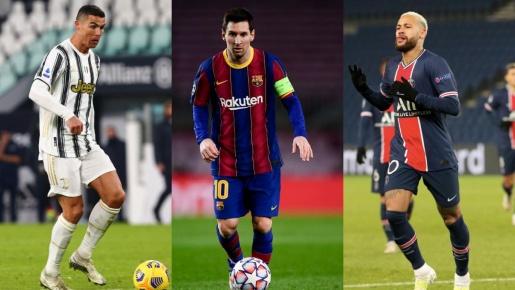 Xếp hạng 10 cầu thủ xuất sắc nhất thế giới hiện nay: Messi xếp sau 1 cái tên