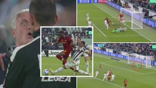Trọng tài xử lý tệ hại, đội bóng của Mourinho bị cướp bàn thắng tức tưởi
