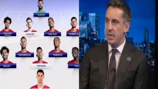 Đội hình M.U kết hợp Liverpool của Gary Neville: 2 sao Quỷ đỏ góp mặt