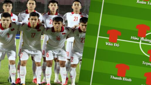 Đội hình U23 Việt Nam đấu Đài Bắc Trung Hoa: Văn Toản bắt chính, Hai Long dự bị?