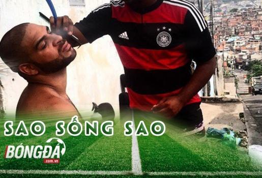 Adriano: ngôi sao xấu xí nhất của bóng đá Brazil