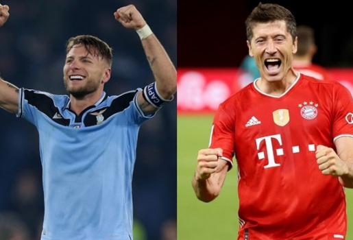 Lazio - Bayern: Lời khẳng định từ Immobile và Lewandowski