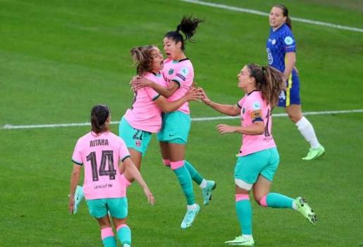 Chelsea thua sốc 4 bàn không gỡ trước Barca ở CK Champions League nữ