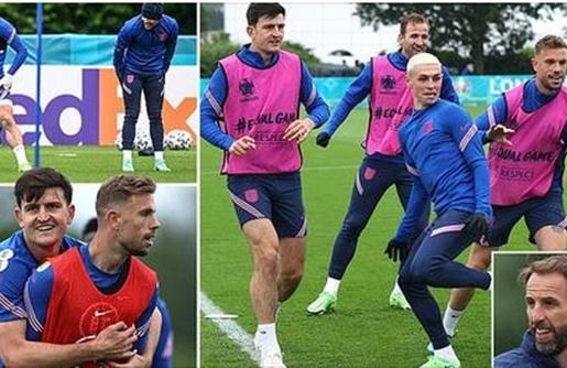 Tuyển Anh rạng rỡ trước giờ G, cơ hội cho bộ 3 Man Utd?