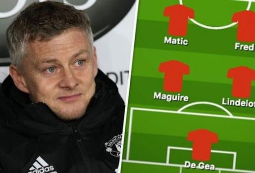 Đội hình Man United đấu Liverpool: Tam tấu Rashford - Ronaldo - Greenwood